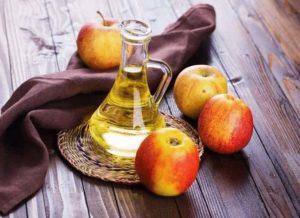 яблочный уксус против папиллом